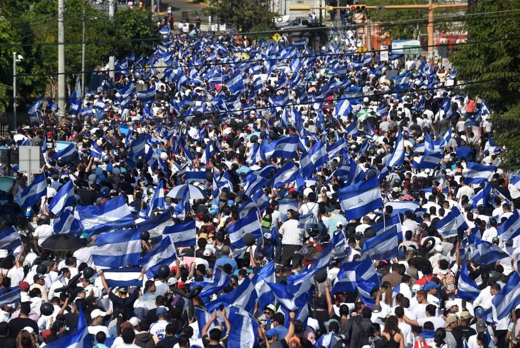 Policía de Nicaragua rechaza convocatoria a nueva protesta en Managua.