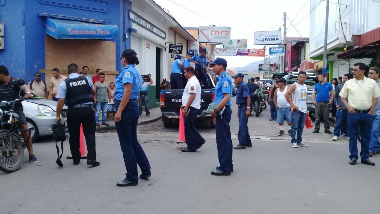 Dos baleados durante un asalto a cambista en Estelí