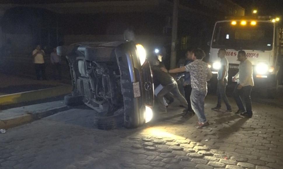 Colisión entre vehículos deja tres lesionados en Estelí