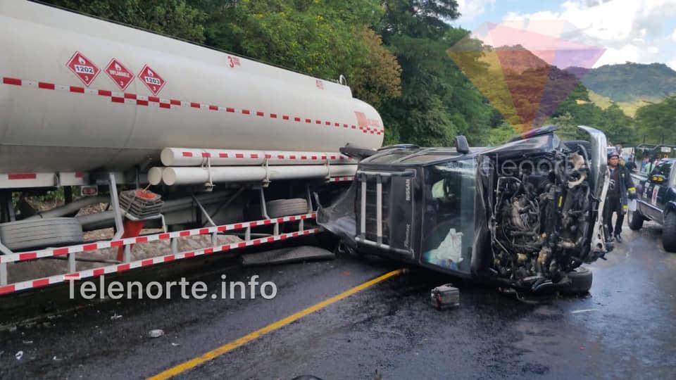 Fatal accidente en cuesta la Kukamonga deja varios fallecidos.