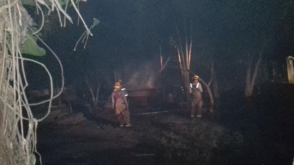 Incendio consume vivienda en La Trinidad Estelí