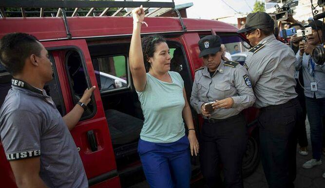 Gobierno de Nicaragua declara que ha cumplido con liberación de opositores .