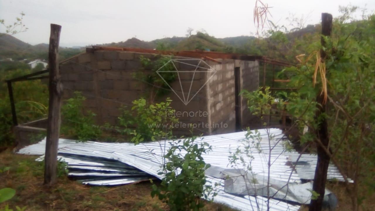 Lluvias dejaron daños en varios municipios de Nicaragua.