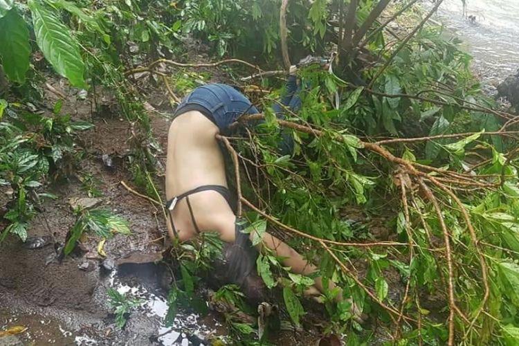 Encuentran cuerpo sin vida de una joven a orillas de Río Blanco.