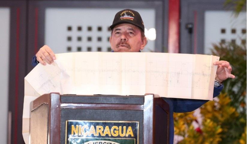 """Ortega: """"No hemos renunciado"""" al gran canal interoceánico en Nicaragua."""