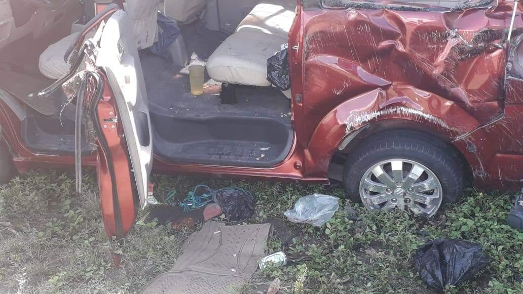 Un muerto y varios heridos en accidente de tránsito.