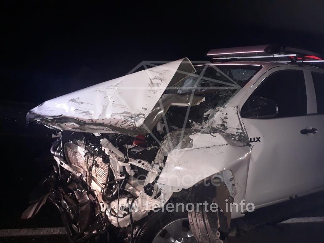 Colisión entre camioneta y furgón en Estelí deja un lesionado.