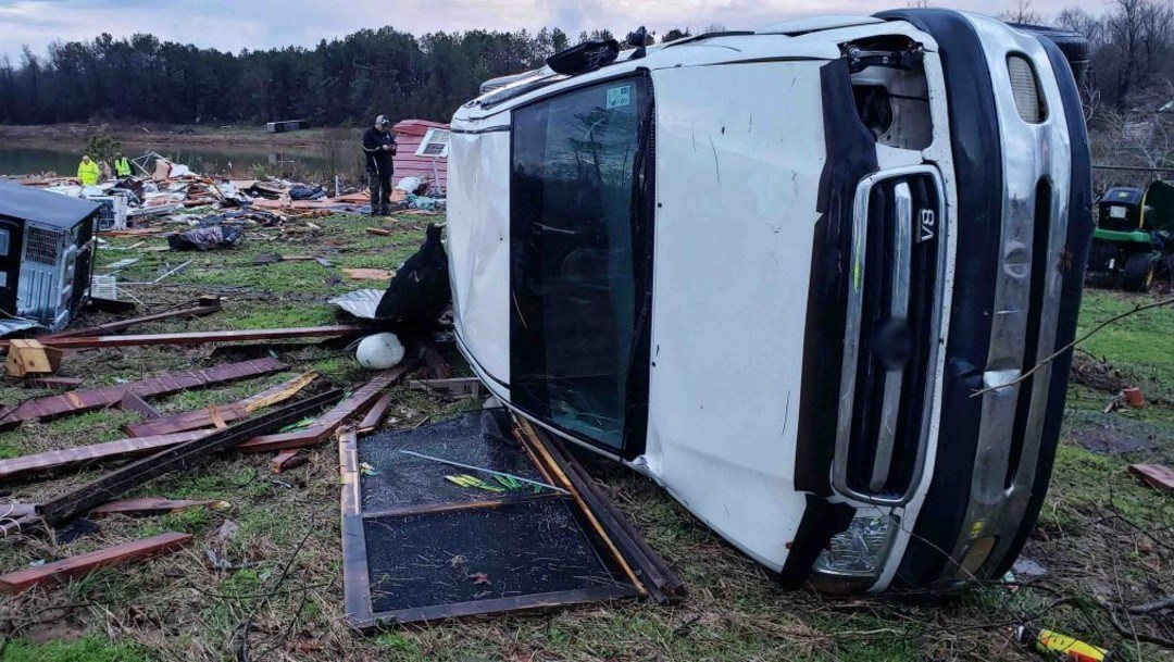 11 muertos por fuertes tormentas en EEUU