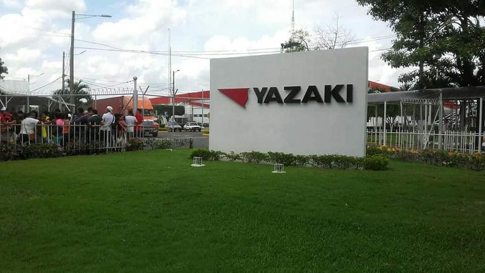 Yazaki paralizará producción en el occidente de Nicaragua.
