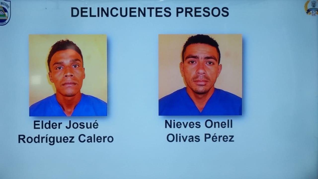 Capturan a sujetos involucrados en crimen de San Juan de Limay