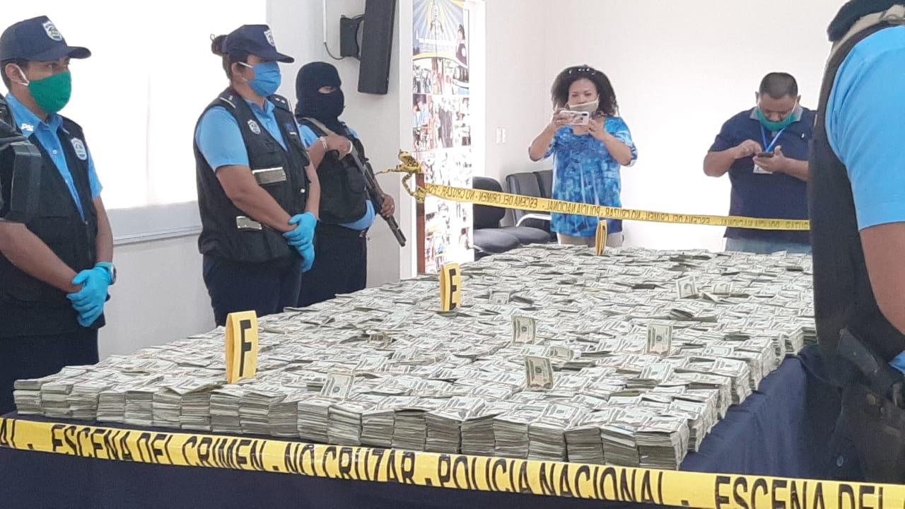 Policía incauta más de 4 millones de dólares