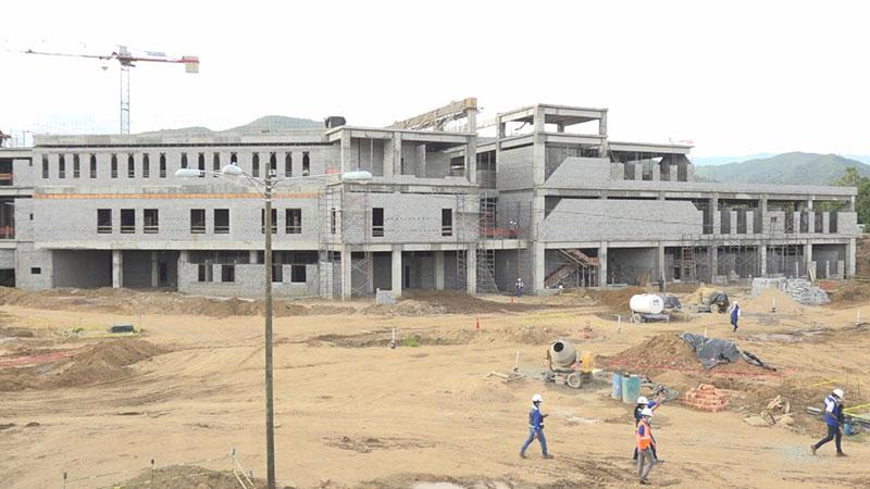 Avanza construcción del Hospital Departamental de Ocotal
