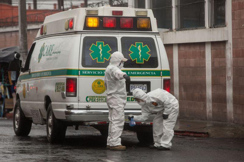 Guatemala registra 48 muertos por la covid-19 y 1.107 nuevos casos positivos