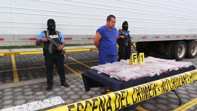 Incautan más de 36 kilos de cocaína a costarricense