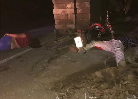 Motociclista muere y su acompañante resulta gravemente herida .