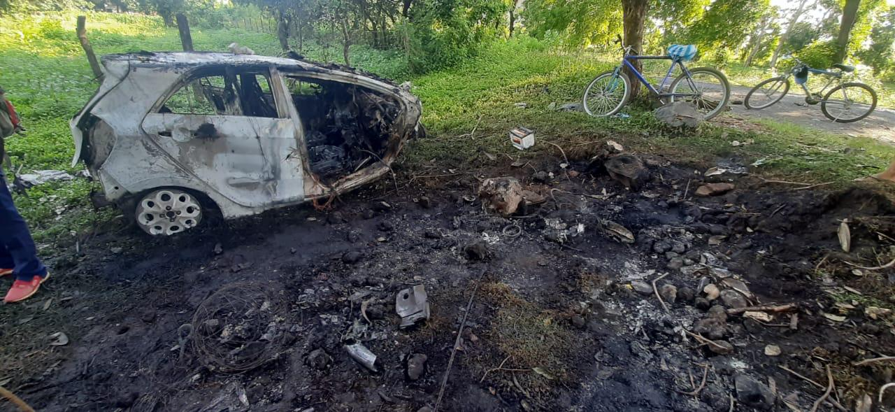 Taxista muere calcinado en trágico accidente en León.