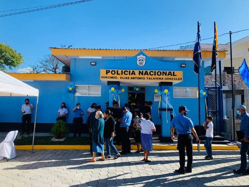 Inauguran delegación policial de San Nicolás, Estelí