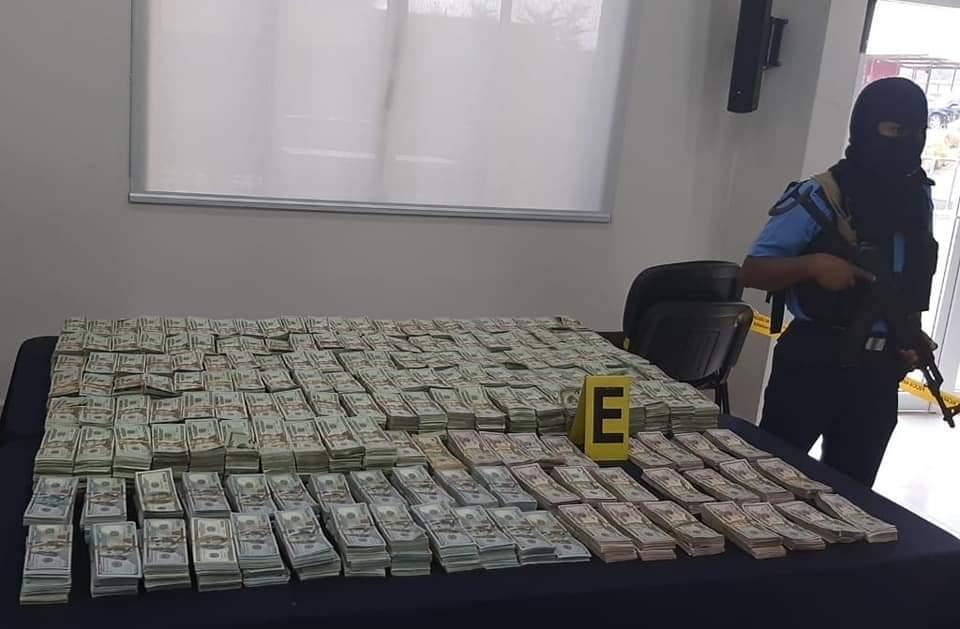 Incautan más de 1 millón 966 mil dólares en Nueva Segovia.