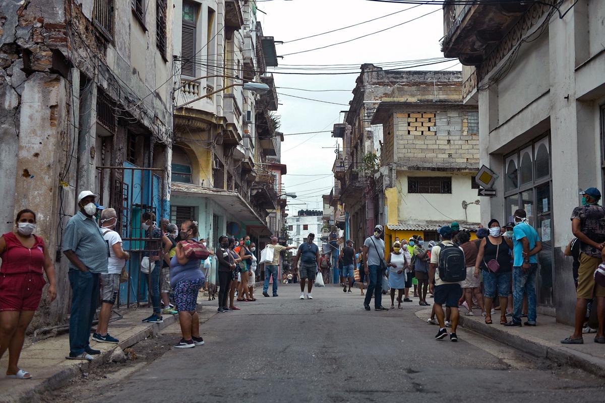 Cuba confirma 8.875 nuevos casos de covid-19, la segunda cifra más alta