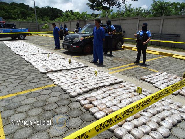 Incautan más de 900 libras de marihuana en Managua
