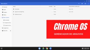 ChromeOS#02 - Gerenciador de Arquivos