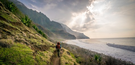 Final Approach - Kalalau Beach Trail, Kauai