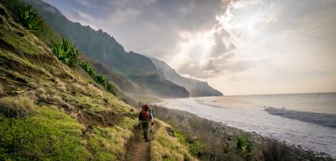 Final Approach - Kalalau Beach Trail, Kauai