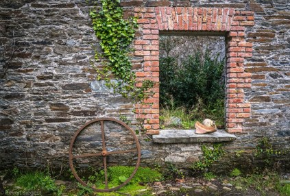 Bantry House Window - Bantry, Ireland