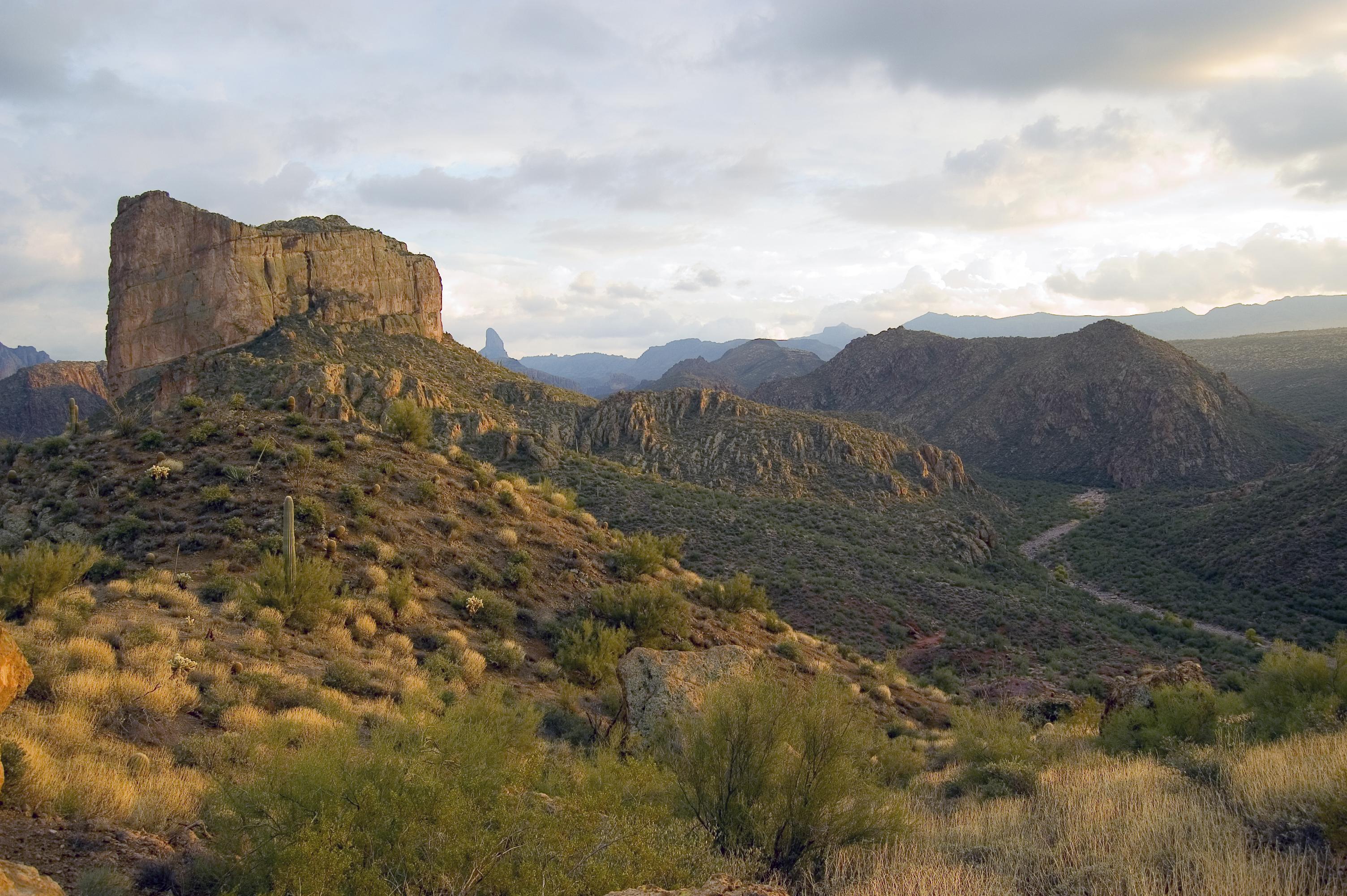Battleship Mountain - Superstition Wilderness, Arizona