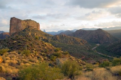Battleship Mountain - Superstition Wilderness, Arizona