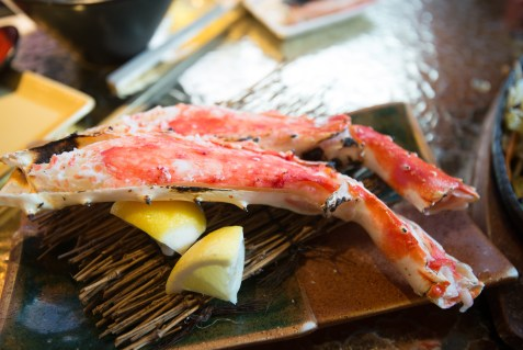 Grilled Crab in Tokyo