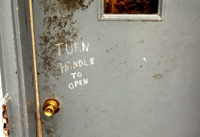 Door in Dubuque, Iowa