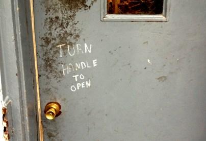 Door in Dubuque, Iowa