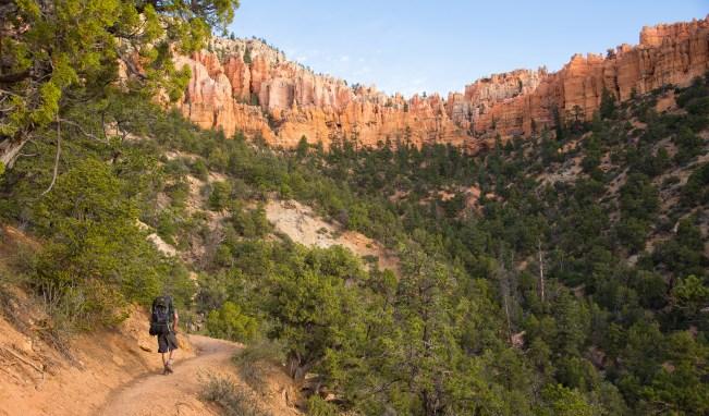 Hiking to Bryce Point - Utah