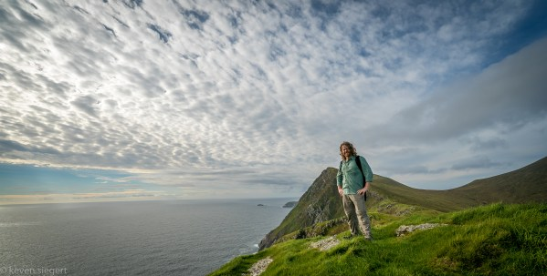 Kev at Crough Head - Ireland