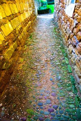 Path in Lyddington, England