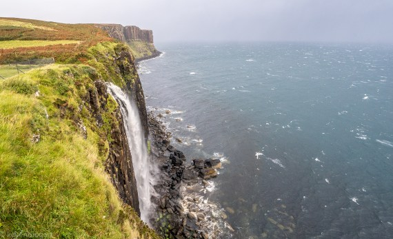 Mealt Falls and Kilt Rock - Isle of Skye