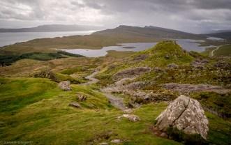 Path To Old Man of Storr - Isle of Skye, Scotland