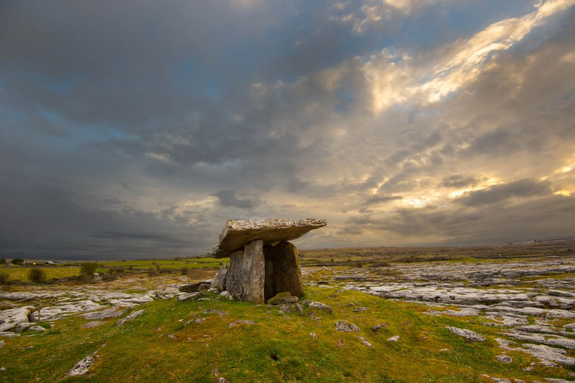 Poulnabrone Tomb - County Clare, Ireland