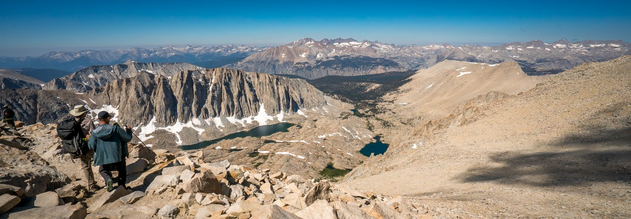 View from Just Below the Summit of Mt. Whitney
