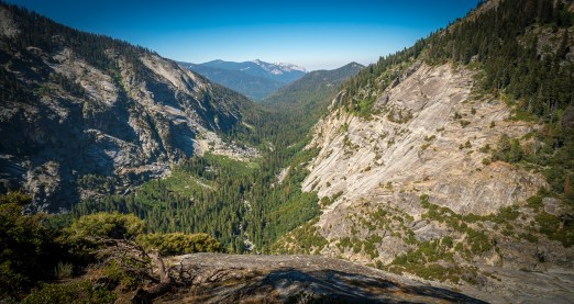 Glacial Valley in the Sierra Nevadas