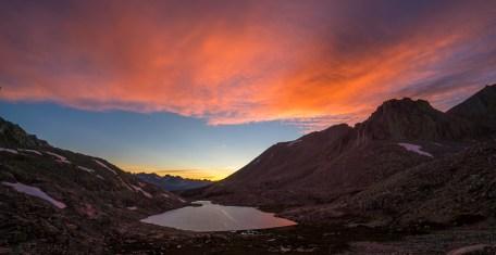 Guitar Lake Sunset
