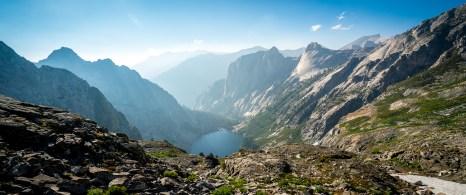 Hamilton Lake View from Precipice Lake