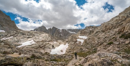 Backpacking in the Sierra Nevada Range