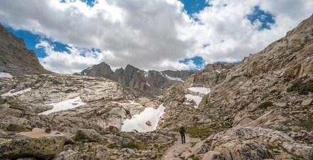 Backpacking in the Sierra Nevada Range