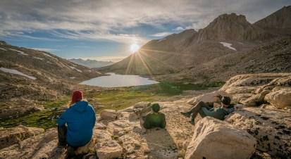 Relaxing Above Guitar Lake