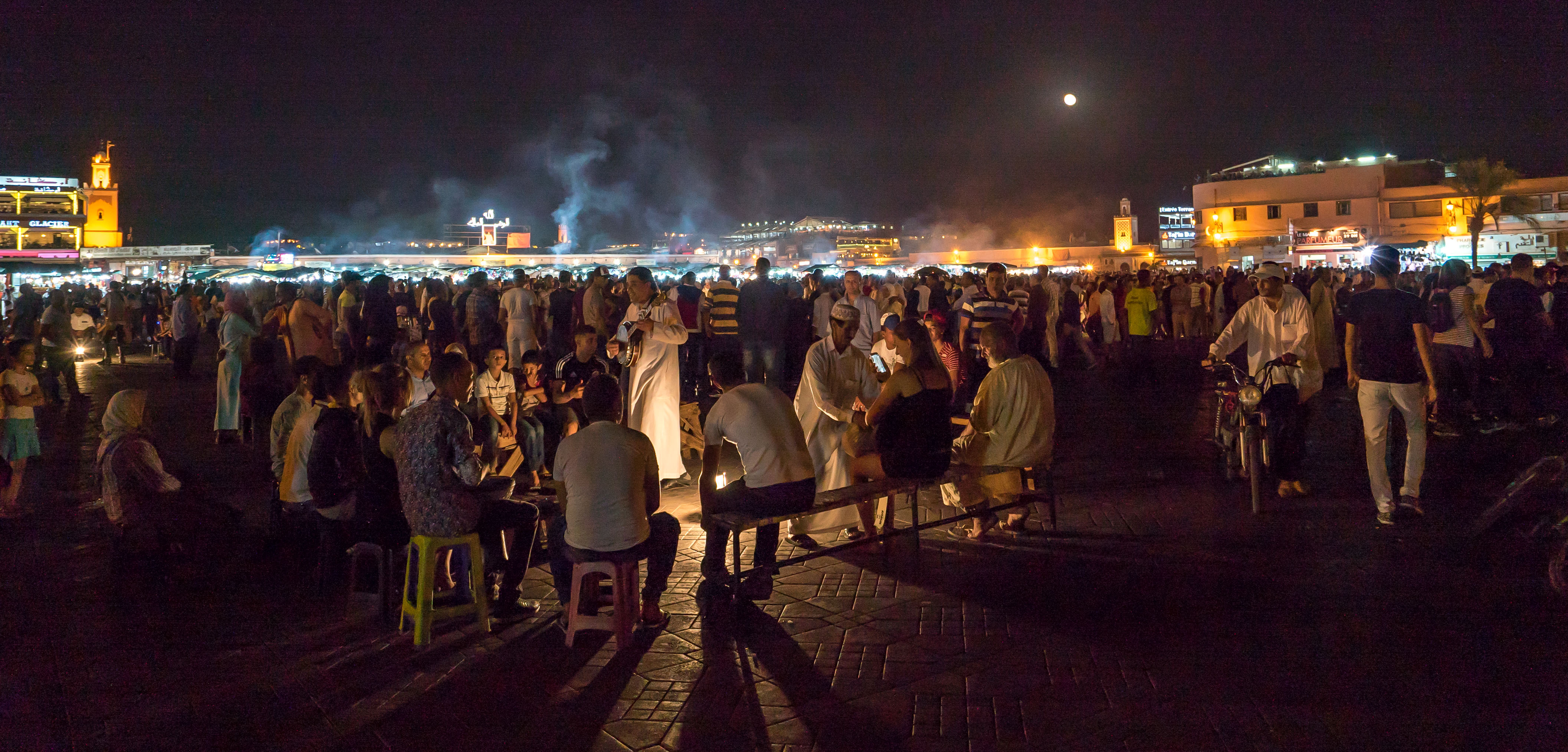 Medina in teh Evening