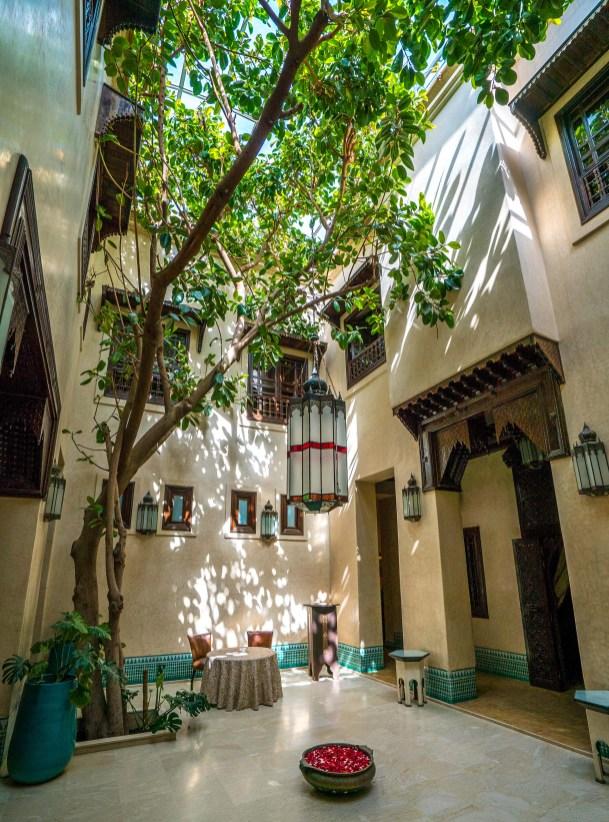 Riad Courtyard 4