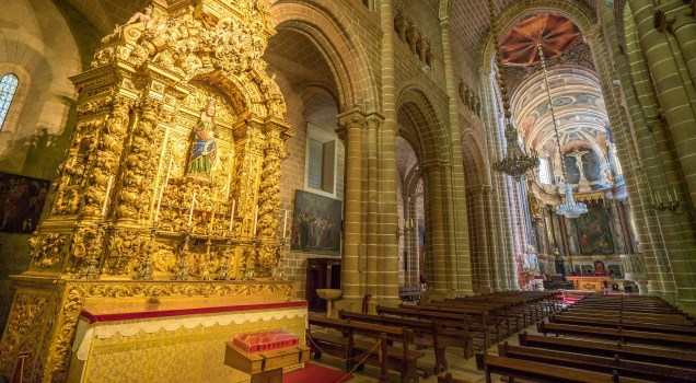 Evora Cathedral Virgin Mary