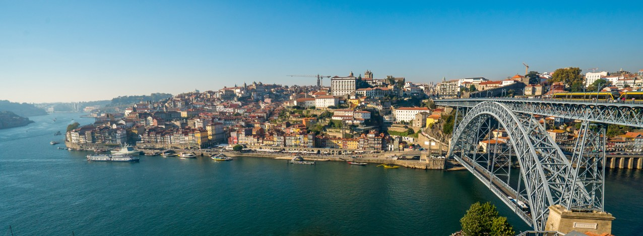 Porto w Luis Bridge